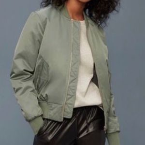 Aritzia   Bomber Jacket by Wilfred Free Size Small